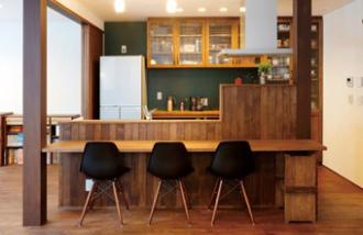 念願のカフェ風空間
