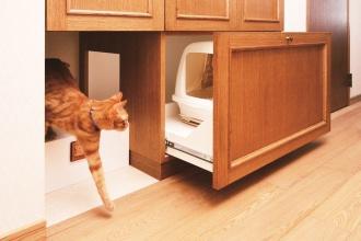 愛猫に対応した設計でリフォーム。江別市のペット・内装リフォーム事例を紹介。愛猫との暮らしも考えた楽しいアイデアあふれるリフォーム。猫が室内でも動き回れるキャットウォークをリビングに新設。既存の家具やステンドグラス、絵画など、置くものと配置に合わせシーリングライトから引き戸の取っ手まで、好みに合わせてインテリアをセレクト。施工は株式会社SAWAI建築工房