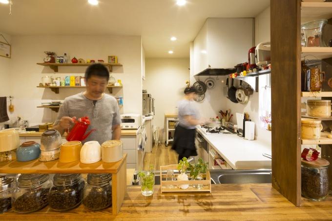 店舗キッチン