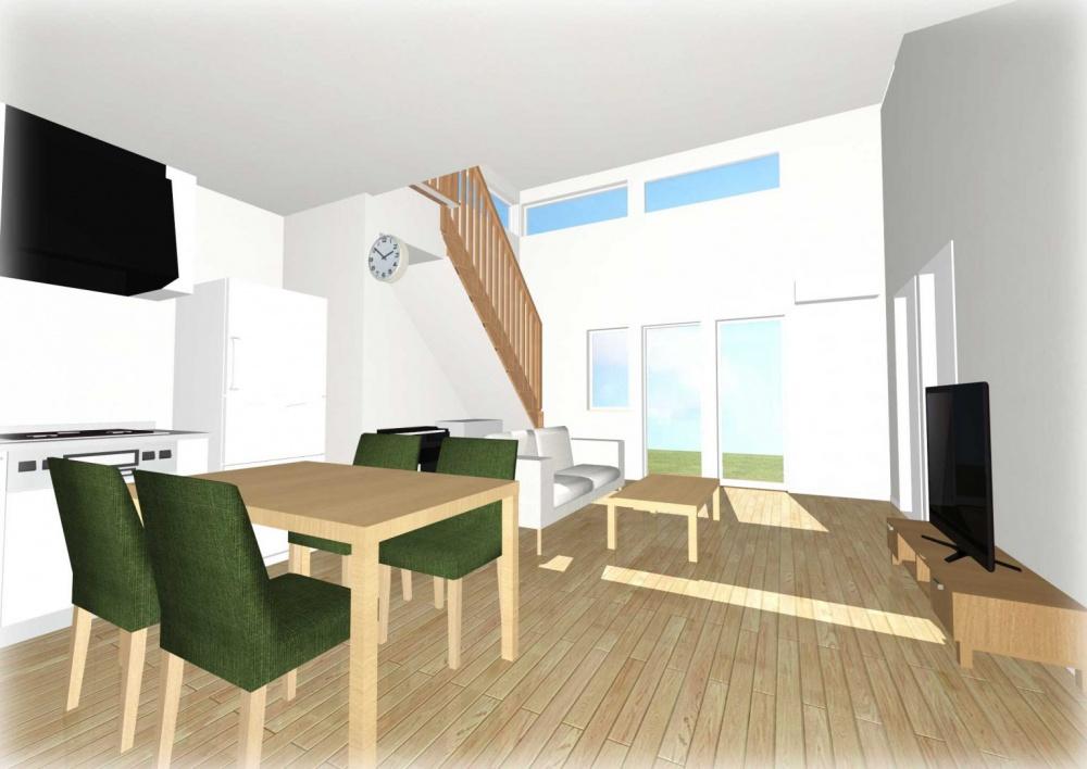 アルティザン建築工房リノベーション内観イメージ