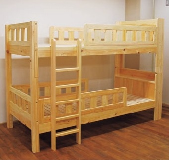 ヒノキの二段ベッド(参考商品)