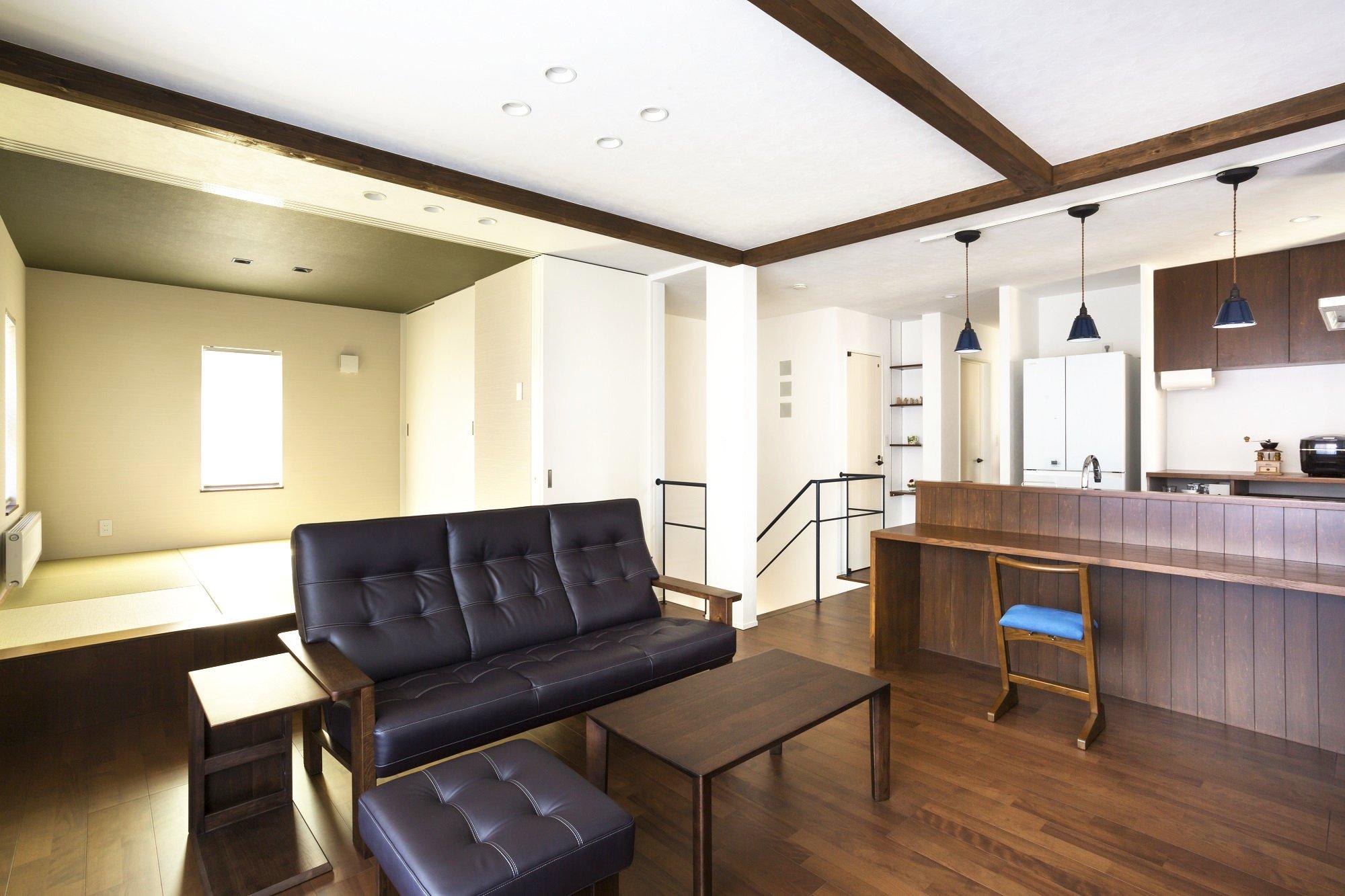 築年数のたった既存物件を思いきって改修することで、自分らしい個性あるライフスタイルの実現が近づく中古住宅のリノベーション。